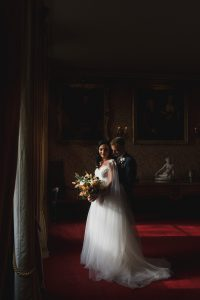couple portrait elmore court wedding photography