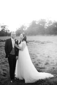 couple laughing Elmore court wedding photography