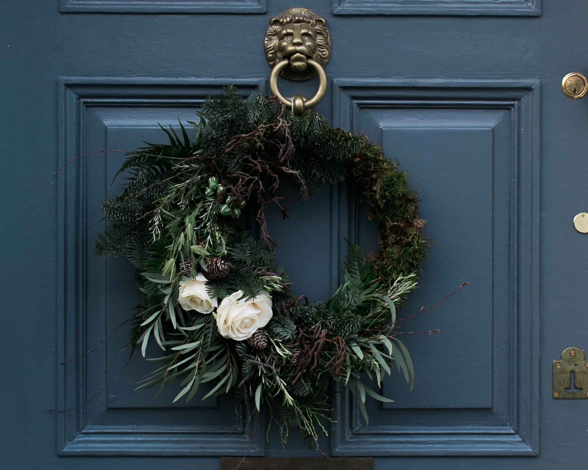 Christmas wreath wild and co