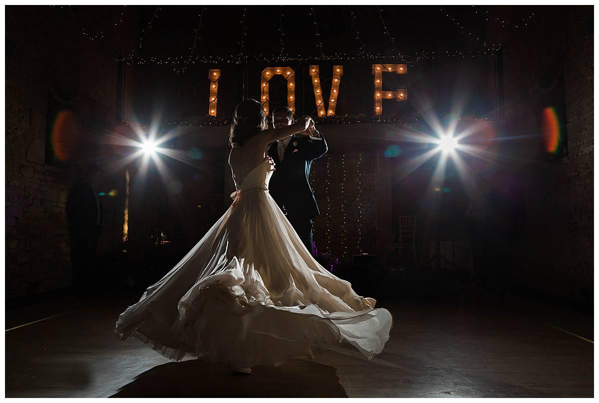 Great The Barn first wedding dance