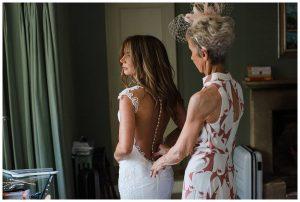 Barnsley House Berta wedding dress