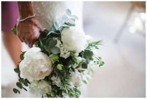 the rose shed bouquet Barnsley house wedding photographer