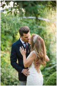 Barnsley House Wedding Photography portrait
