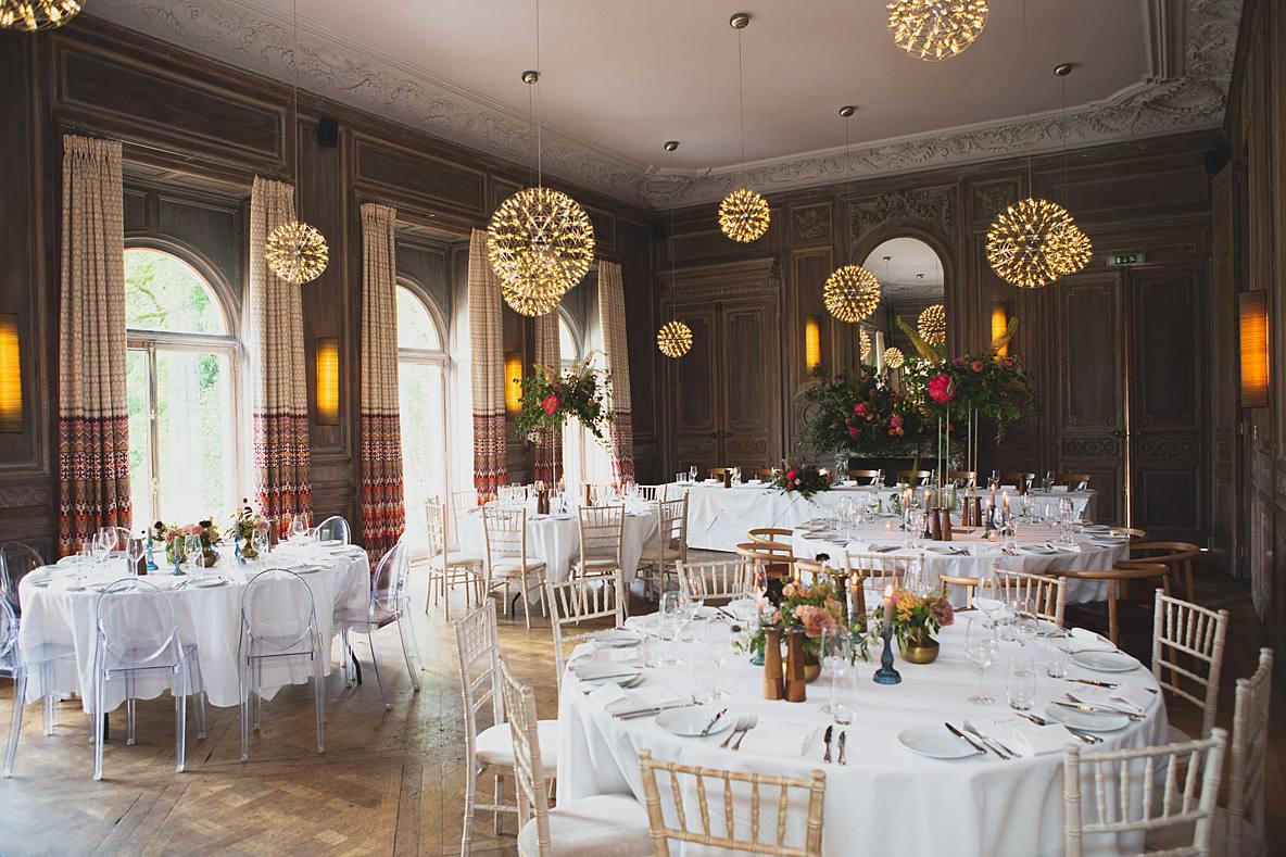 ceremony wedding breakfast room Cowley Manor