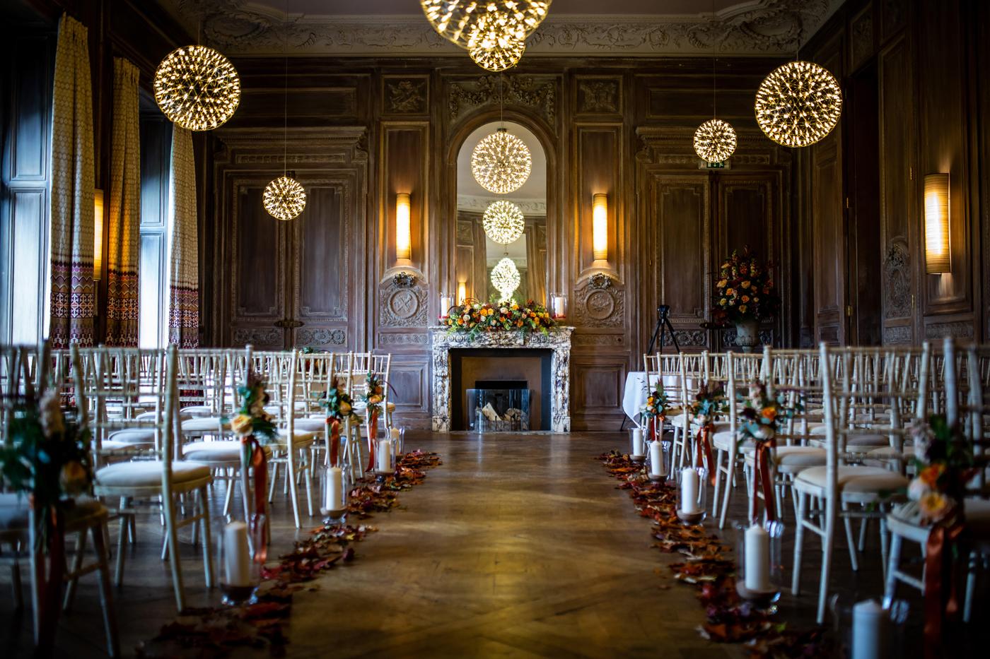 Cowley Manor ceremony room