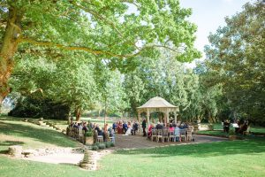 outdoor ceremony eastington park right