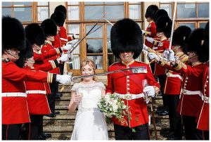 queens guards wedding luxury wedding wiltshire
