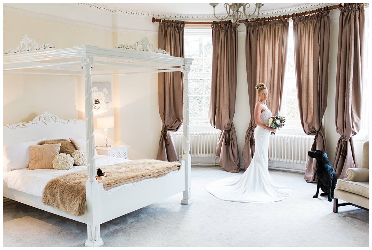 Eastington Park bridal suite wedding photographer