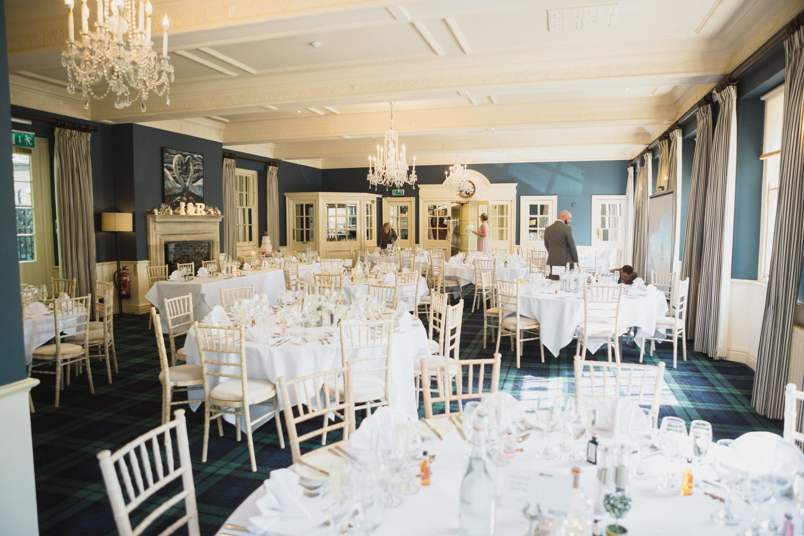 The swan hotel wedding breakfast room