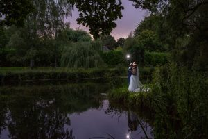 Bittenham Springs Evening Wedding Photographer