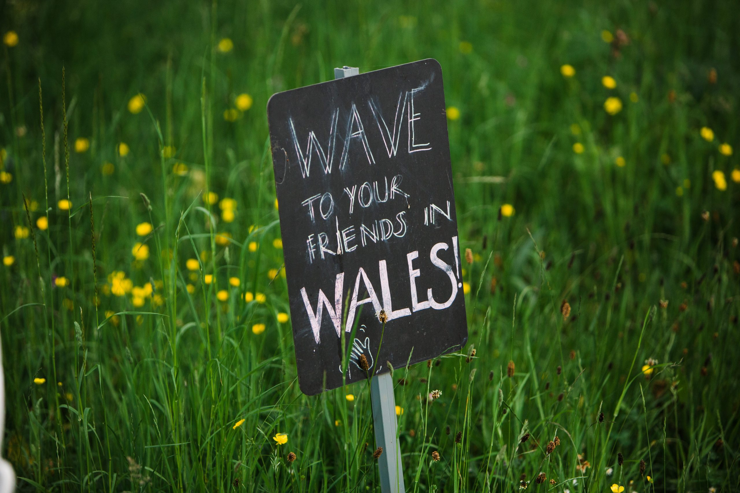 Berwick lodge looking to Wales wedding