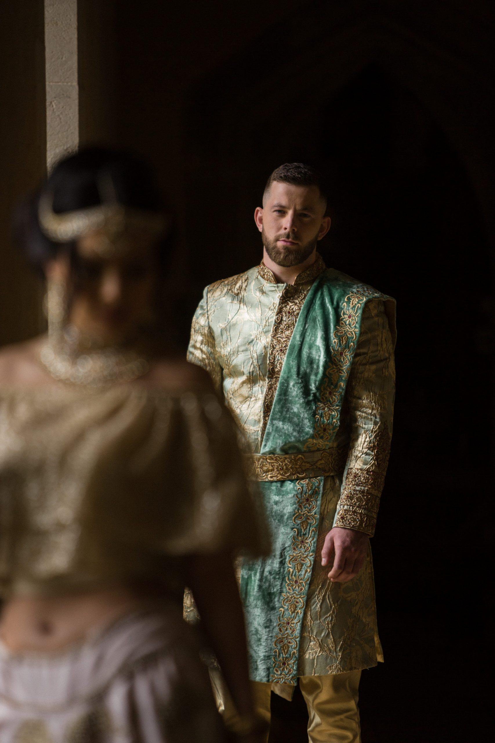 asian fusion groom Euridge Manor wedding photographer