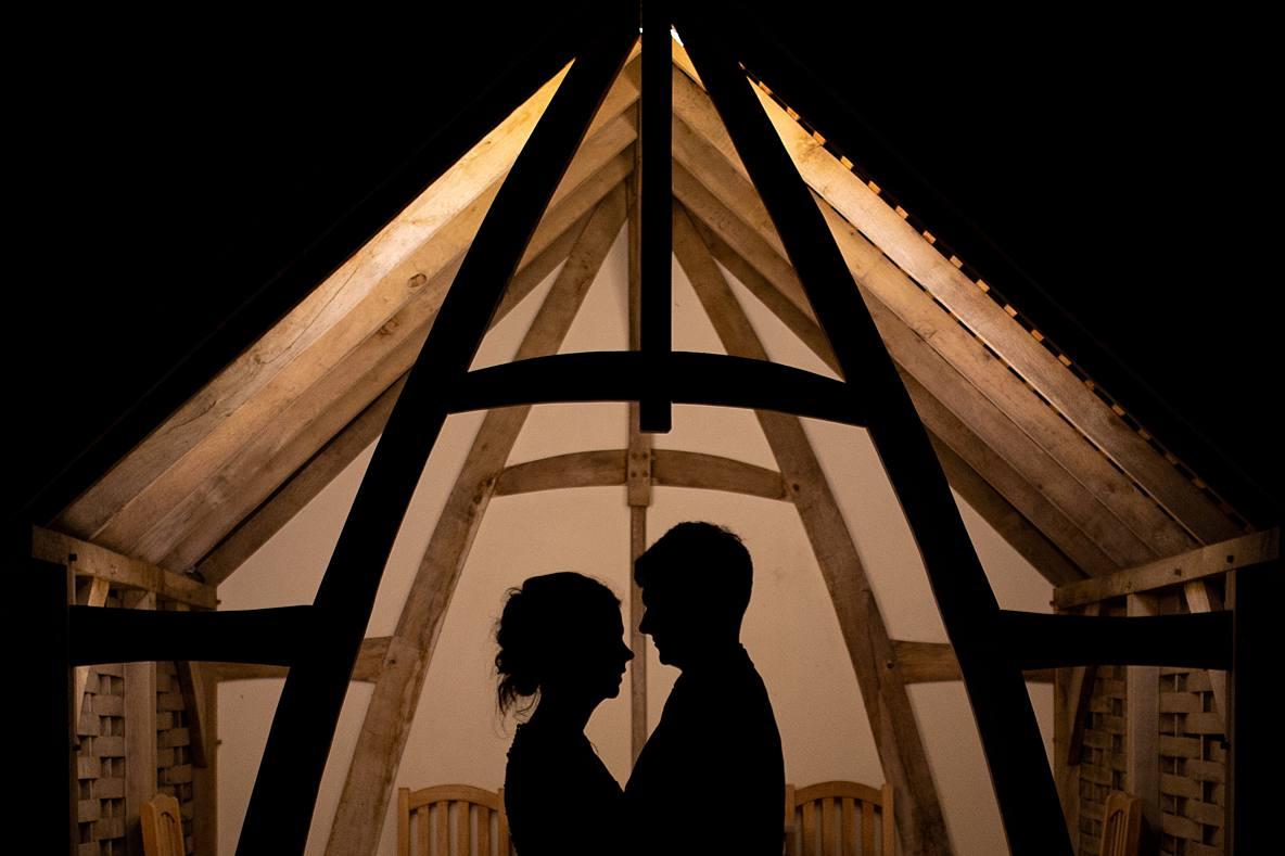 silhouette Kingscote Barn
