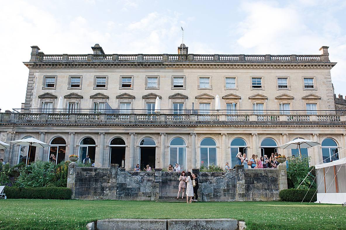 Cowley Manor cotswold wedding venue