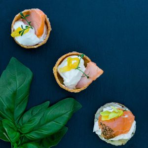 basil with canapés No 131 gloucestershire wedding photographers