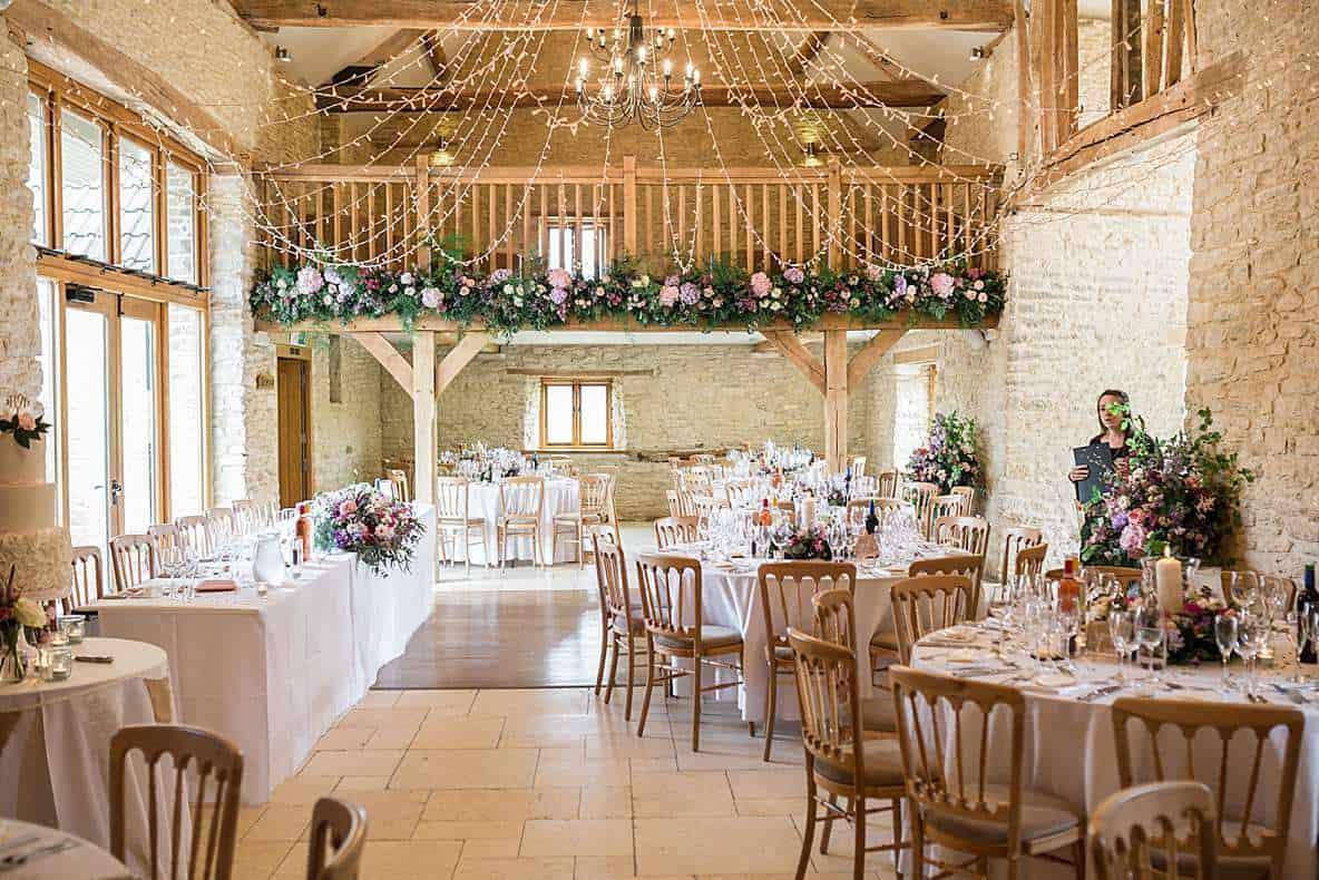 kingscote barn wedding venue photography