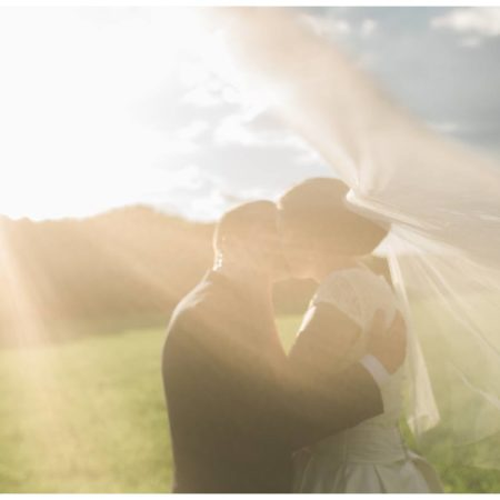 Wet Summer Orchard Gloucestershire Wedding | Jane and Steve