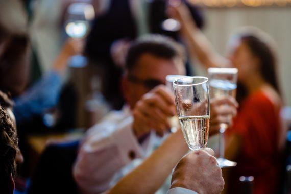 cheers to you micro wedding photographer gloucestershire