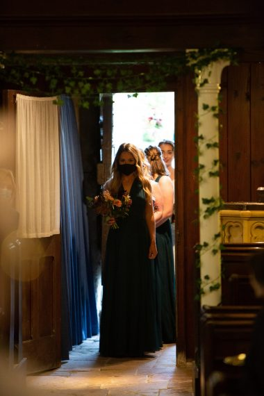 church ceremony micro wedding photographer