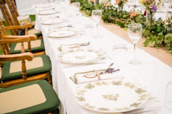 grandmas plates micro wedding photographer