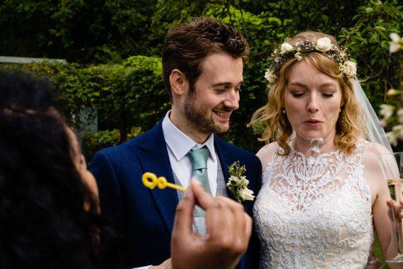 bubbles and bride micro wedding photographer