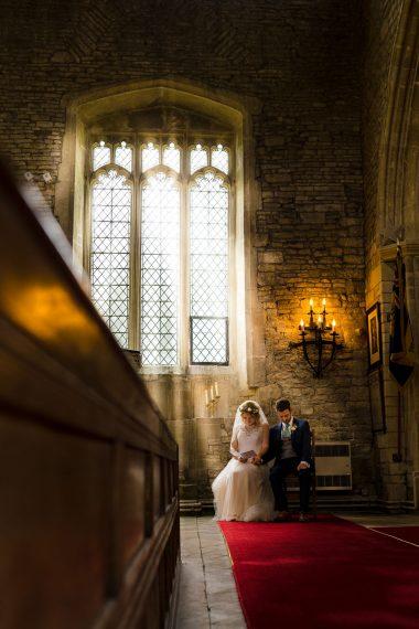micro wedding photographer cotswolds church