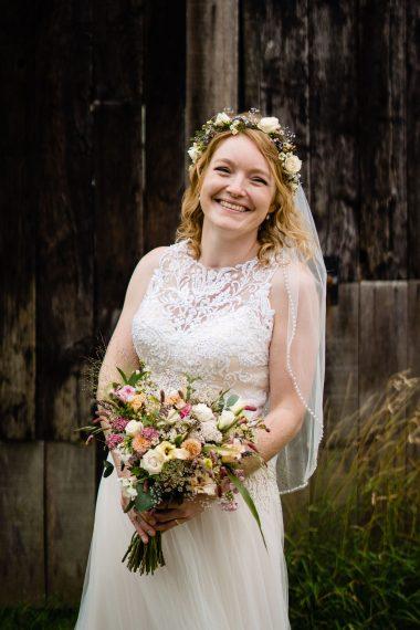 micro wedding photographer bridal portrait