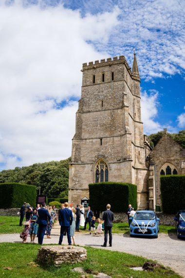 socially distanced church service micro wedding photographer