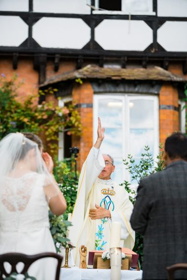 mass outdoors micro wedding photographer