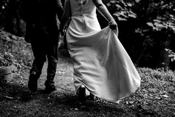 intimate micro wedding