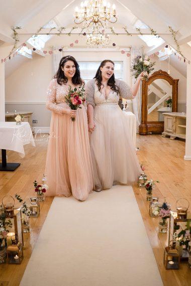elopement wedding berwick lodge lgbt wedding ceremony